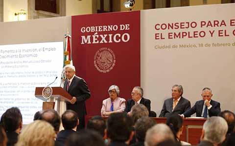 Presentan Consejo Para Fomentar Inversión, Empleo y Crecimiento Económico