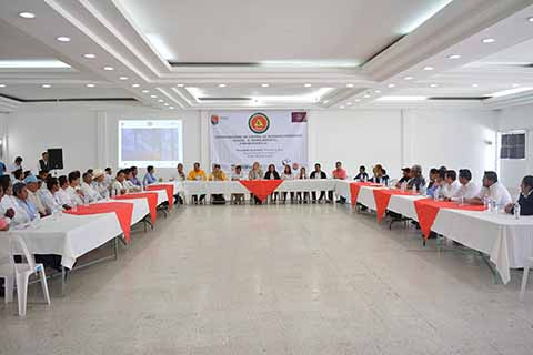 Instalan Centro Regional de Control de Incendios en la Región XI Sierra-Mariscal