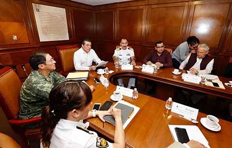 Prevenir y actuar de inmediato, objetivo de la Mesa de Seguridad: Rutilio Escandón