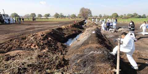 Aumentan a 129 los Muertos por Explosión en Tlahuelilpan
