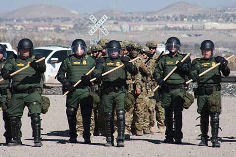Desplegará Pentágono Tres mil 750 Efectivos en Frontera con México