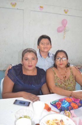 Familia Guzmán Aquino.