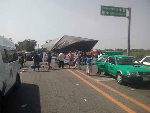 Se Agudizan Inconformidades en el Poblado Puerto Madero