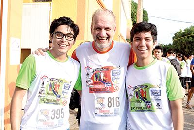 Alexei Mezu, Zbig Grzesik, Diego Torres.