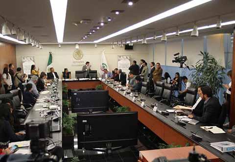 Senadores Aprueban en Comisiones Dictamen de la Guardia Nacional