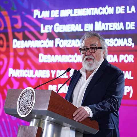 Gobierno Federal Anuncia Plan Nacional Contra Desapariciones