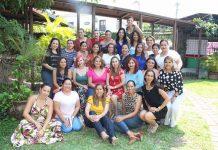 Ady de Elorza celebró su aniversario personal junto a su círculo de amigas