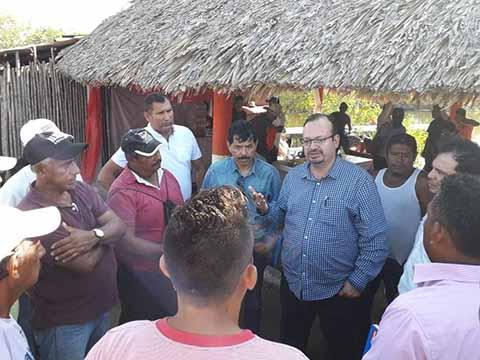 El Gobierno de México tiene el Compromiso de Potencializar la Actividad de los Productores de Chiapas