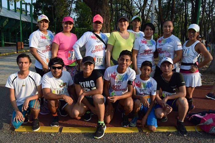 """El equipo Iron Kids participó en la carrera del segundo aniversario del """"Team Yareth""""."""