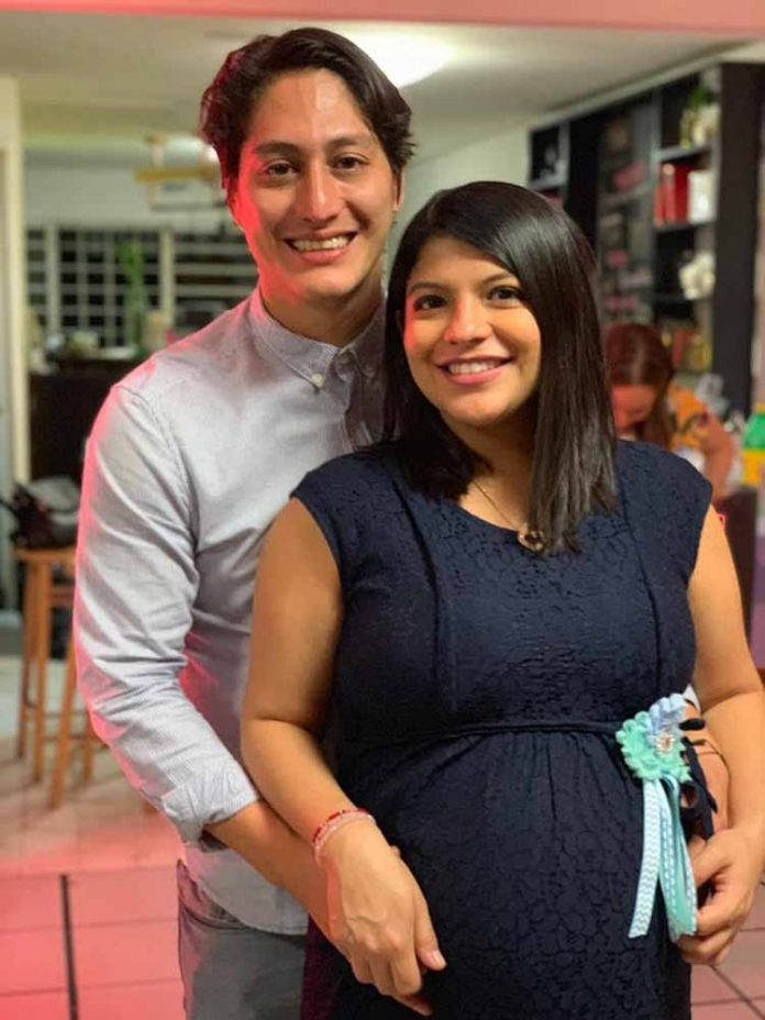 Benjamín López & Gabriela Arrazola.
