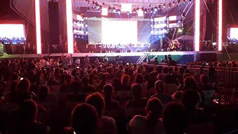 Proyectarán Concierto de Queen en la Expo Feria Tapachula 2019