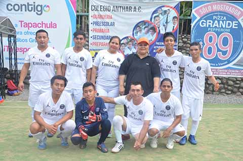 Deportivo Galerías Golea 4-1 a Contabilidad