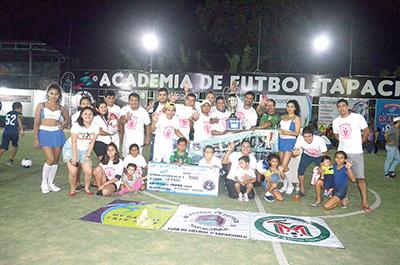 "La Raza, Campeón de la Liga ""Academia Tapachula"""