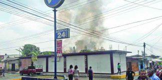 Se Incendia Casa en la Colonia Centro