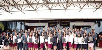 Alumnos de la Ingeniería en Electromecánica, Generación 2014-2019.