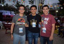 Raúl Becerra, Juan Carlos Padilla, Luis Galicia, tuvieron una destacada participación en el concurso de matemáticas.