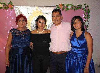 María Mikery, Mario & Natalia Mikery, festejaron los 15 años de Miranda Mikery.