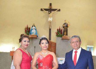 Horalia Colomo & Jacinto Romay, presentaron en sociedad a su hija Valeria Romay.