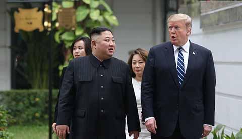 Concluye Abruptamente y sin Acuerdos Cumbre Entre Donald Trump y Kim Jong-un en Vietman