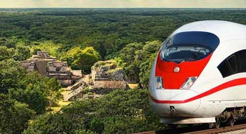 Proponen que el Tren Maya se Amplíe a la Frontera con Guatemala