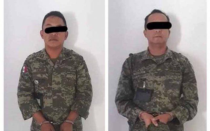 Dos Capitanes del Ejército Quedan a Disposición de la Fiscalía por el Crimen de una Compañera en Chiapas