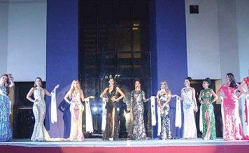 El parque Bicentenario fue el escenario elegido para la gran final del certamen de belleza más esperado en estas fechas.