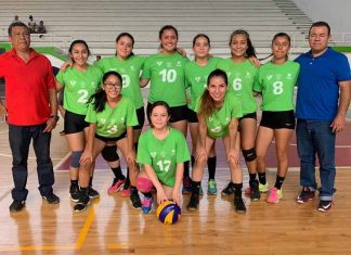 Selección Mada de Tapachula Gana Estatal de Voleibol