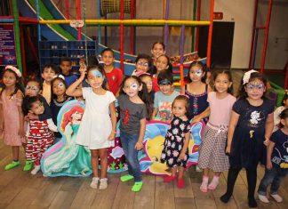La linda: Guadalupe Quintana, festejó su sexto cumpleaños junto a sus amigos.