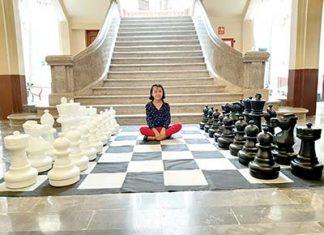 Karina Guadalupe Guillén Moreno, gran promesa del ajedrez.