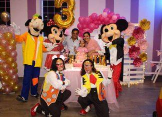 Ronny Rizo & Rosario Coutiño, consintieron en grande a su hija, Renata Rizo en su tercer cumpleaños.