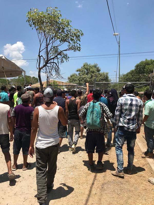 Por Agresiones a Policías Cierran Refugio Para Migrantes en Mapastepec