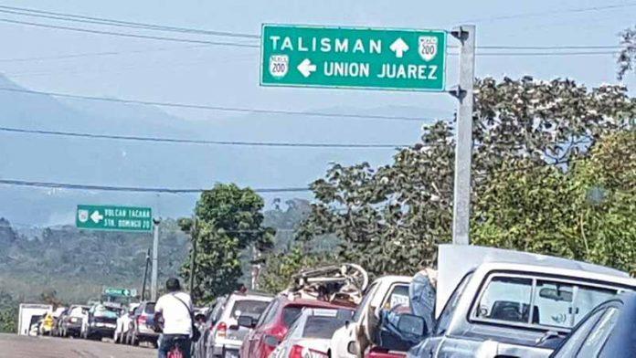 Transmigrantes Congestionan Frontera Talismán
