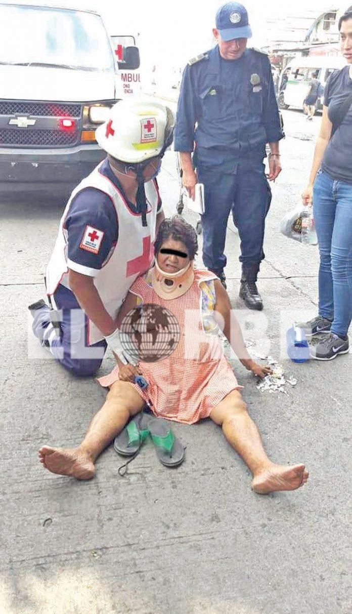 Señora fue Arrollada por Vehículo Desconocido