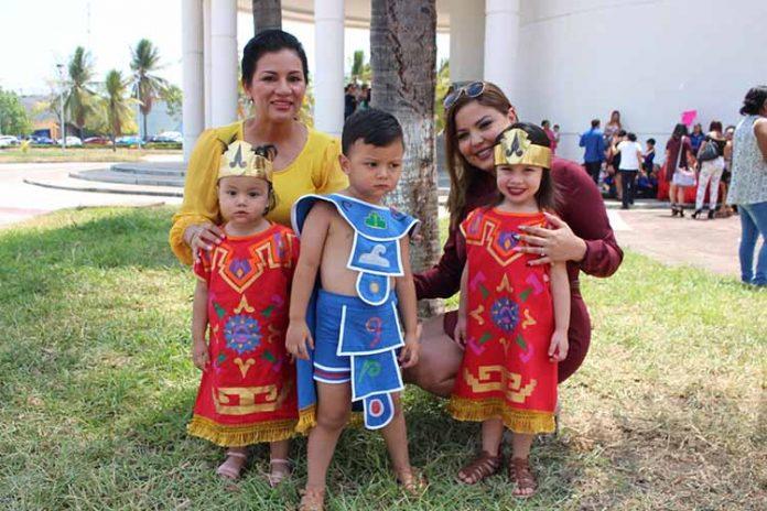 Rosa Agustín, René Talarico, Diana Talarico, Kerly, Kaylee Egremí, disfrutaron de la celebración del Día de las Madres