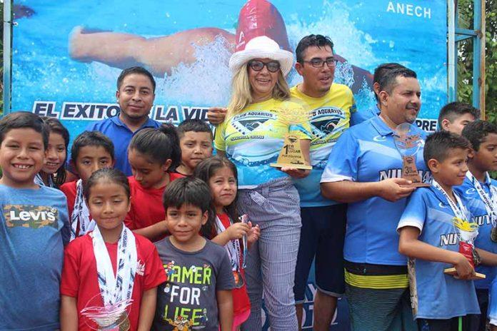 Con Éxito se Realizó Torneo de Natación