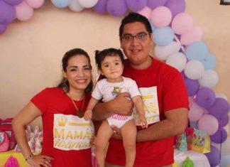 Ivanna Sánchez estuvo consentida por sus padres Denisse Contreras & Javier Sánchez por su primer añito