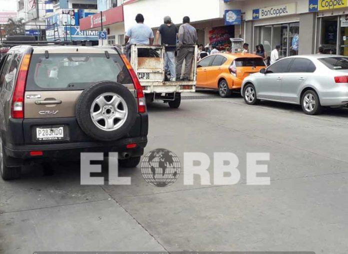 Faltan Espacios Para Estacionamiento en el Centro de Tapachula