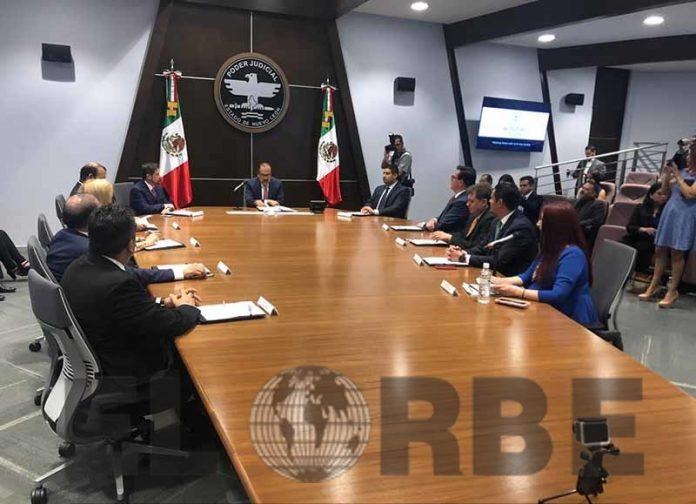 Signan Convenio Entre Poderes Judiciales del País
