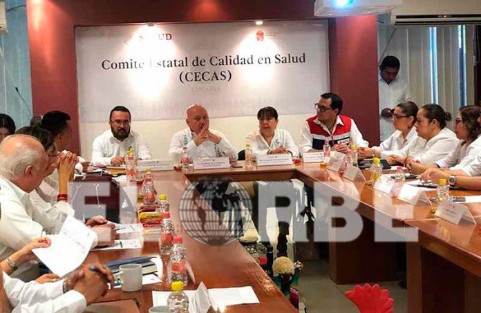 Secretaría de Salud instala Comité Estatal de Calidad en Salud