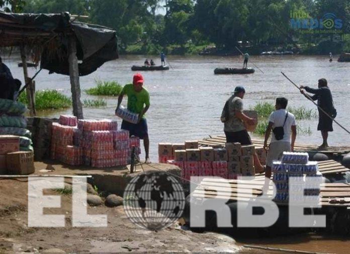 Comercio Formal Afectado por Tráfico Ilegal de Mercancías de Guatemala a México.