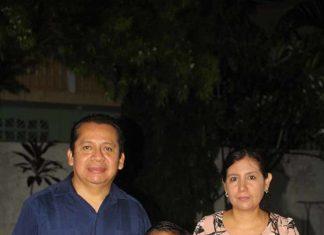 José Antonio, Víctor, Regina González, Guadalupe Quintero.